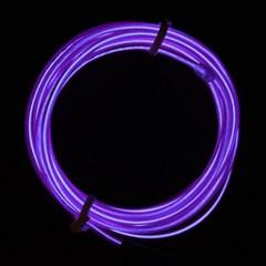 EL 와이어줄(2M)+인버터 [퍼플]