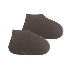 장마철 여행휴대용 PVC 방수 슈즈 신발 레인커버 SC10_(1069429)