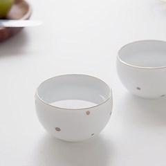 니코트 gold ceramic 술잔