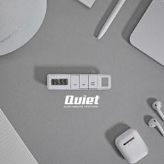 수험생 스터디 무소음 진동기능 목걸이 타이머 QUIET_(1069425)