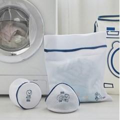 버블버블 세탁망 3p세트 네이비