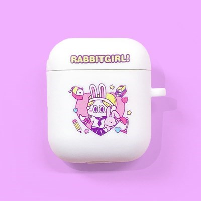 AIRPODS CASE PURPLE RABBITGIRL VER.