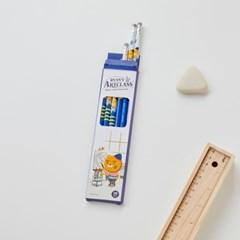모나미*라이언 흑목연필(2B심) 6p