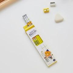 모나미*라이언 흑목연필(B심) 6p