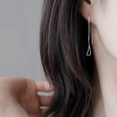 (92.5 silver) pure drop earring