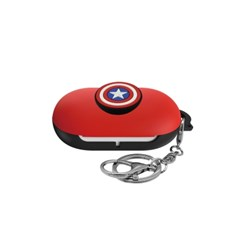 버즈 마블 포인트 3D 케이스 캡틴아메리카 레드