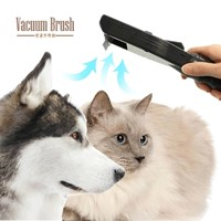 진공 애견브러쉬 강아지 고양이 퍼미네이터 Vacuum Brush