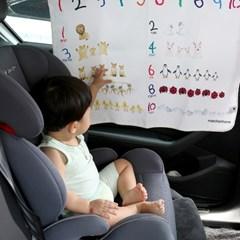 메르헨홈 유아 아동 차량용 햇빛가리개 (자석 커튼)