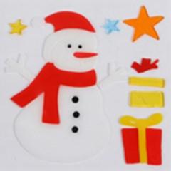 눈사람 젤리스티커 20cm 트리 크리스마스 장식 TRMBLS_(1389958)
