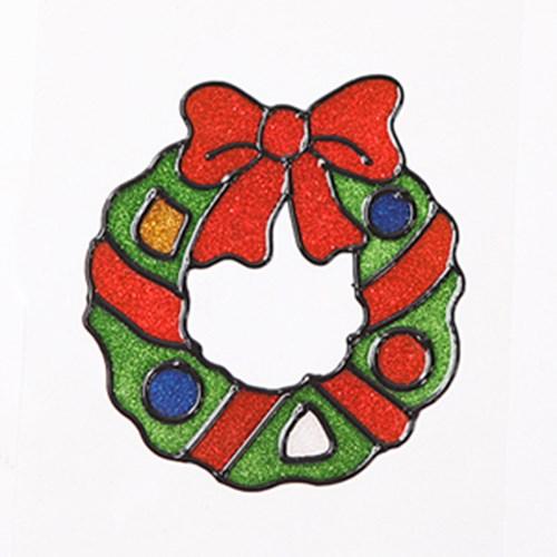 리스 글라스스티커 소 20cm 크리스마스 장식 TRMBLS_(1389945)