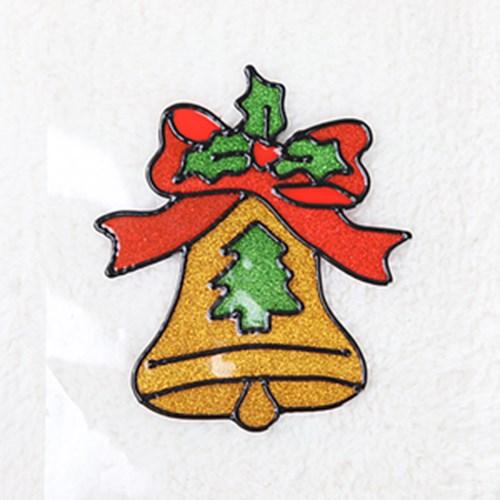 종 글라스스티커 소 20cm 크리스마스 장식 TRMBLS_(1389944)