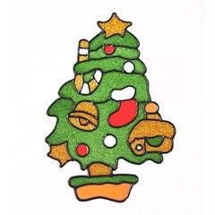 트리 글라스스티커 대 20cm 크리스마스 장식 TRMBLS_(1389926)
