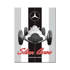 노스텔직아트[14374] Mercedes-Benz - Silver Arrow