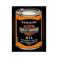 노스텔직아트[14359] Harley-Davidson Wild At Heart Oilcan