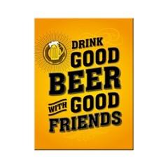 노스텔직아트[14355] Drink Good Beer