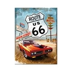 노스텔직아트[14229] Route 66 Red Car