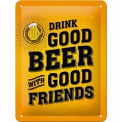 노스텔직아트[26204] Drink Good Beer