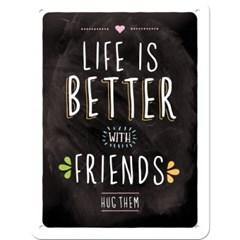 노스텔직아트[26200] Life is better with friends