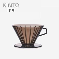 킨토 슬로우커피 스타일 드리퍼 클리어 4컵_(1413652)