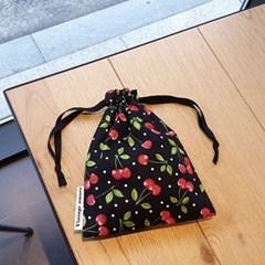 [빈티지아모르]cherry도트 파우치_3size