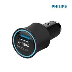 필립스 DLP2552Q 차량용충전기 어댑터 퀵3.0 초고속_(2235996)