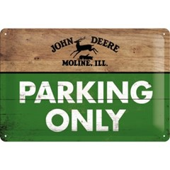 노스텔직아트[22258] John Deere - Parking Only