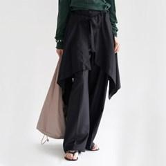 [skirt] 언발 페이크 스커트_(1317057)