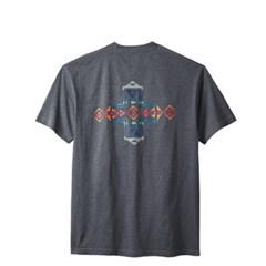 [PENDLETON] 펜들턴(ACC) 호라이즌 크로스 반팔 티셔츠 차콜