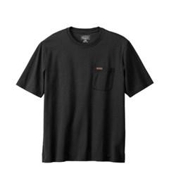 [PENDLETON] 펜들턴(ACC) 데슈트 반팔 포켓 티셔츠 블랙