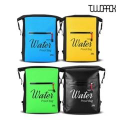 [무료배송+사은품]투팩 드라이 방수 백팩 25L 물놀이용품 워터파크