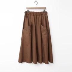 Cotton Full Long Skirt