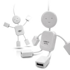 플라이토 아이맨 USB허브 4포트_(1388642)