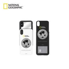 내셔널지오그래픽 메탈 데코 아이슬라이드 케이스 아이폰