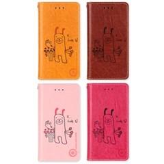 LG X6 2019 (LG X625) Suk-LovePuppy 지갑 다이어리 케이스