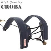 소가죽 네이비 색소폰스트랩 CSS-03N 목걸이 멜빵 어깨걸이용 국산