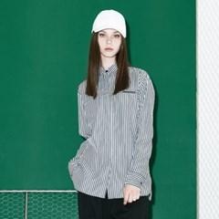 [디바이디그낙] Oversize Stripe Shirts BK