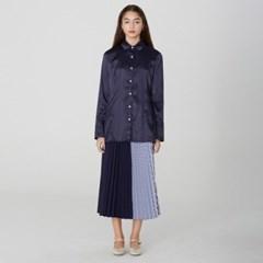 [디바이디그낙] Stripe Pleated Long Skirt NA