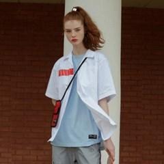 [디바이디그낙] PVC Oversize Cotton ShirtsWH