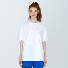 [디바이디그낙] Woven Pocket T-ShirtsWH