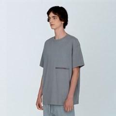 [디바이디그낙] Oversize Rubber Wappen T-ShirtsGE