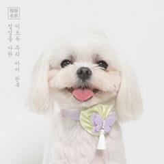 나빌레라 목걸이 (보라