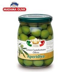 [마다마 올리바] 그린 카스텔베트라노 올리브 575g_(668422)
