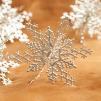 입체설정9cm(2개 1세트) 트리 크리스마스 장식 TROMCG_(1402653)