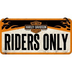 노스텔직아트[28003] Harley-Davidson - Riders Only