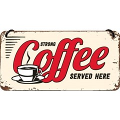 노스텔직아트[28009] Strong Coffee Served Here