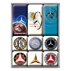 노스텔직아트[83103] Mercedes-Benz - Logo Evolution