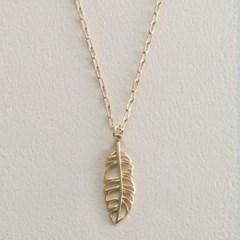 KANOA 목걸이-나뭇잎