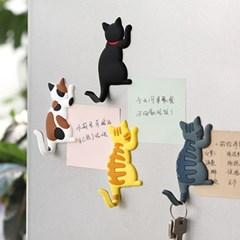 고양이 냉장고 자석 마그넷 7종 집사가필요해냥 마그네틱 걸이