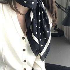 티니 땡땡이 여성 트윌리 스카프_(2246412)