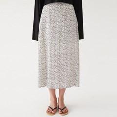 flower long flare skirt_(1318213)